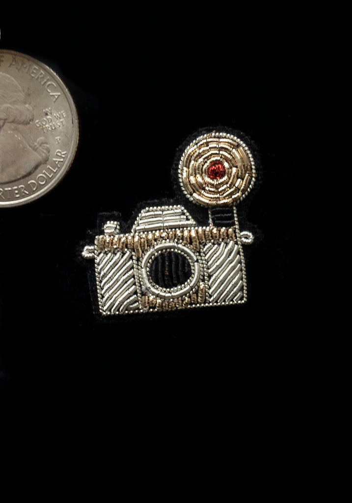 Lapel Pin-Vintage Camera
