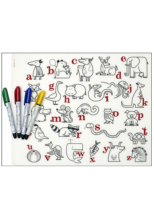 Kidz Box - Reusable Placemats
