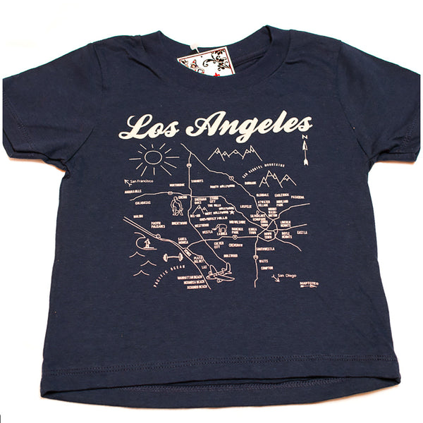 Los Angeles Map Tee