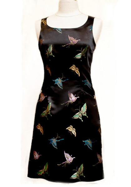Mod Dress - Black Butterfly