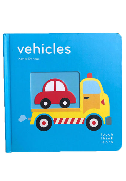 TouchThinkLearn Book - Vehicles