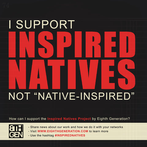 inspired natives, not native inspired,  native american business