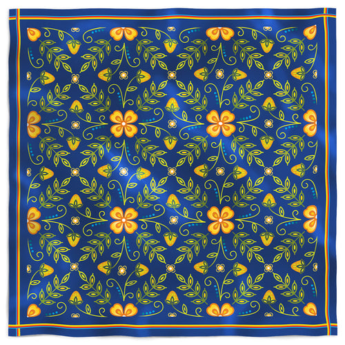 Royal Woodland Silk Scarf