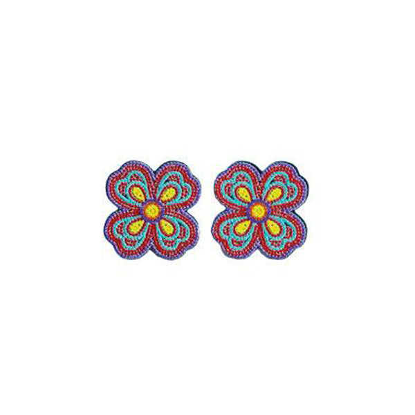 Prayer Flower Earring