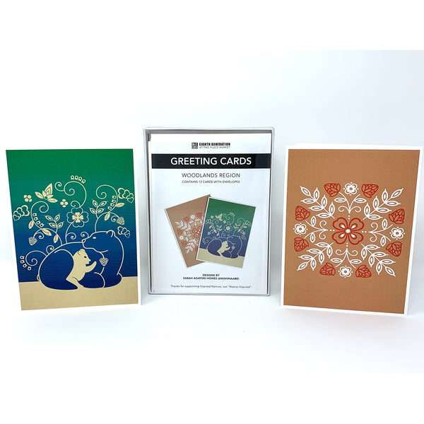 Woodlands Greeting Card Pack