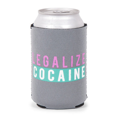 Legalize Cocaine Beer Sleeve