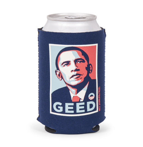 Obama Geed Beer Sleeve
