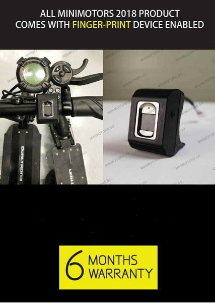 Speedway 4 Mini PRO EYE with EYE throttle, controller & fingerprint - Scootersg