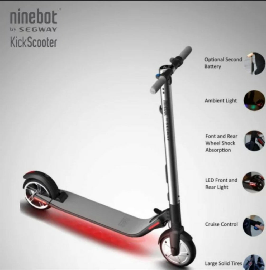 Segway Ninebot ES2 UL 2272 certified & LTA Compliant - free local delivery