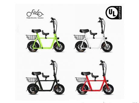 Fiido Seated Electric Scooter UL2272 ESCOOTER  - free local delivery.