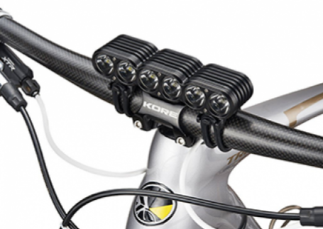 GEMINI TITAN 4000 LUMENS OLED lights for escooters & bicycles