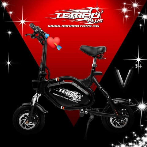 Minimotors TEMPO V3 PLUS - UL2272 Certified Seated escooter