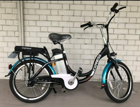 Express Drive food riders' ebike w LTA approved orange seal