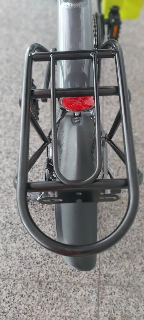 Mobot Ji-Move rear rack and fender