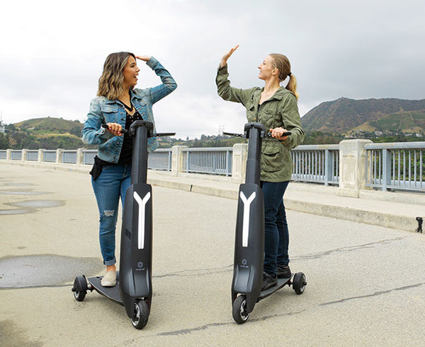 INMOTOR GO compact and lightweight electric escooter that is airline friendly