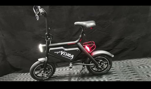 Minimotors VENOM Seated Electric Scooter
