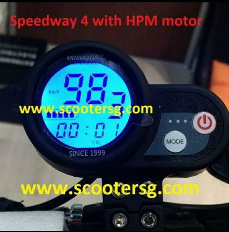 Speedway 4 w HPM Motor - Scootersg