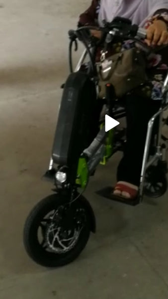 LEO Wheelchair puller e-scooter attachment