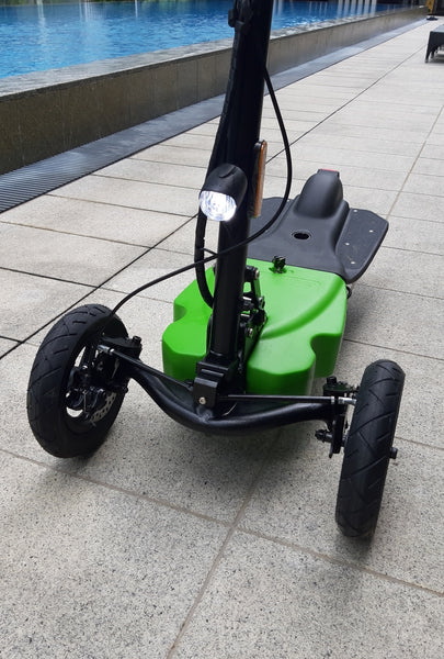 German designed 3 Wheelers tricycle escooter