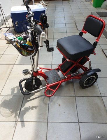 Used Mobot Flexi 2nd Gen Mobility Scooter w extra battery