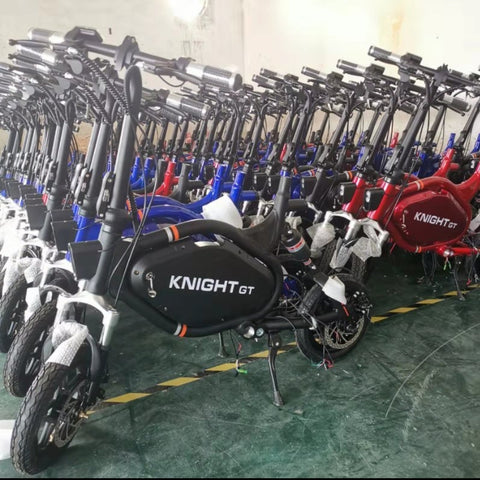 KNIGHT GT UL2272 Seated Electric Scooter. Arriving end August
