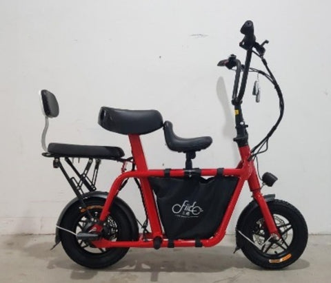 Fiido Q1 3 Seaters Electric Scooter UL2272 ESCOOTER