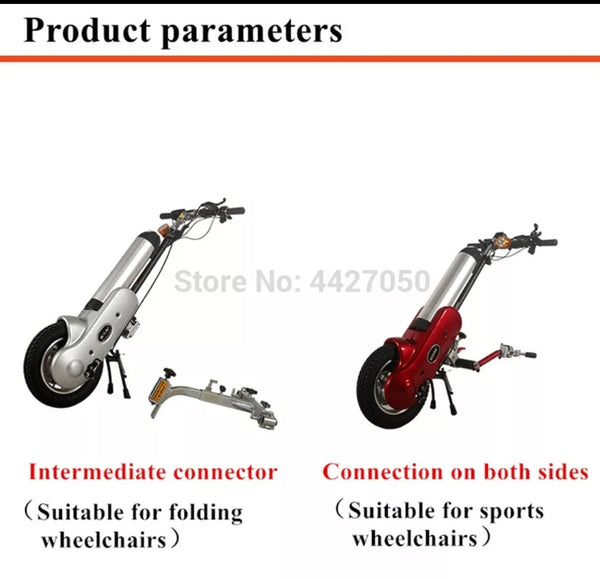 Q1 Motorized Wheelchair puller attachment