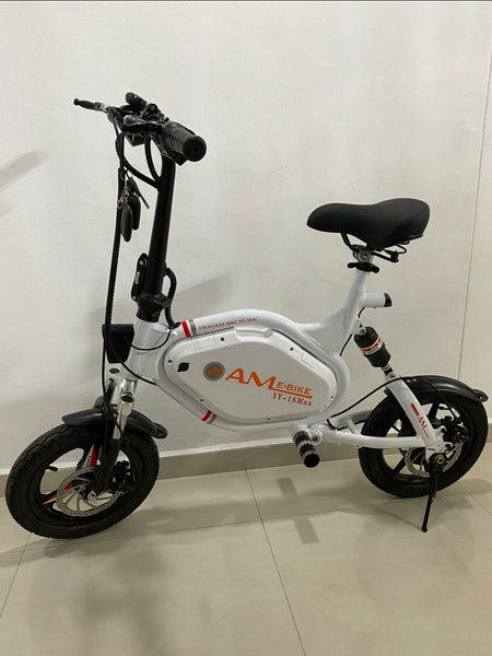 AMBike 48V Seated Electric Scooter w LTA approval & UL2272 CERTIFIED