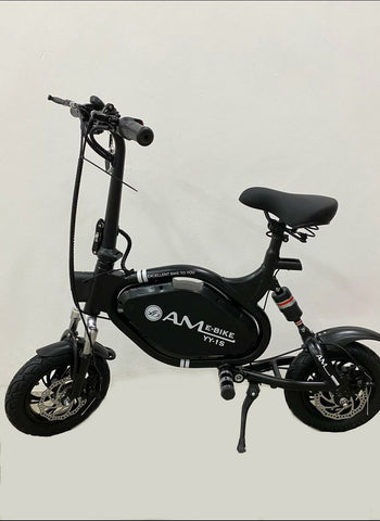 AM Bike 48V Seated Electric Scooter w LTA approval & UL2272 CERTIFIED