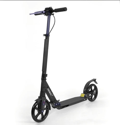 Glideco Explorer Kick Scooter with Front and Rear Shock Absorbers