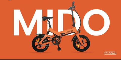MIDO  ebike PAB w LTA approved orange tag. MRT Friendly