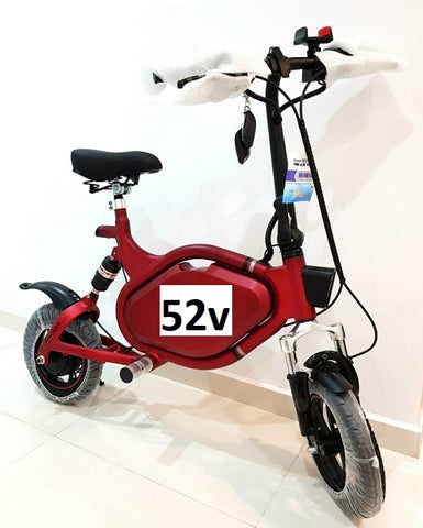 AMBike 52V 17.5AH Seated Electric Scooter (pre-orders) - Scootersg