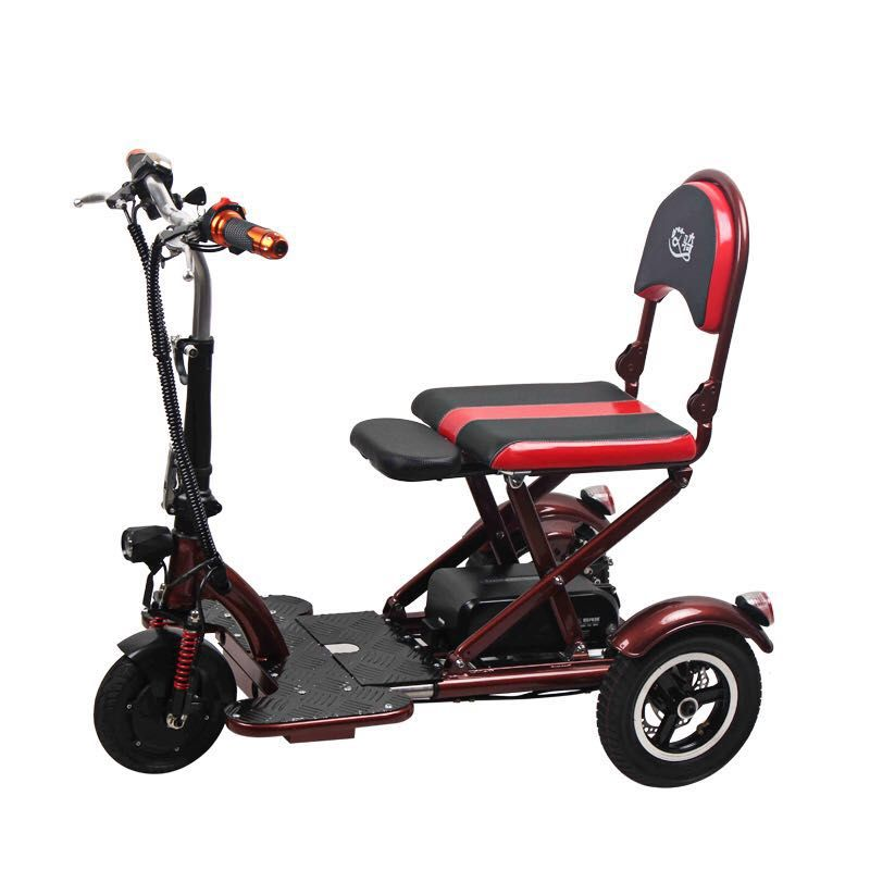 TRICA A11 Automatic Folding 3 Wheeler - Scootersg