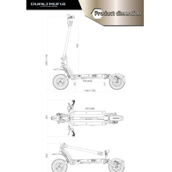 Dualtron 2.0 Limited Edition (USA market only) - Scootersg