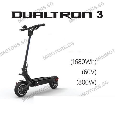 Dualtron 3 - 2018 for Asia - export sales