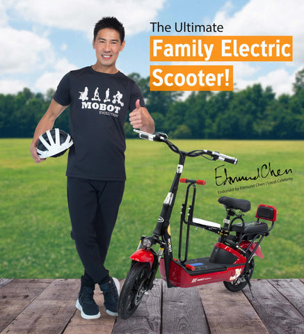 Mobot EV UL2272 Seated Electric Scooter  - free local delivery