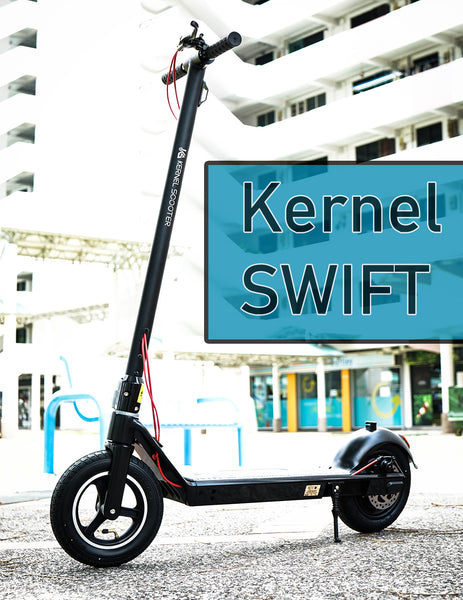 Kernel SWIFT UL 2272 certified escooter for Singapore