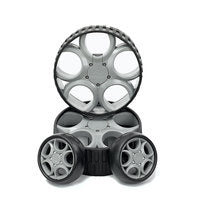 Stewart Golf  F/ X SERIES V3 WHEEL SET - Scootersg