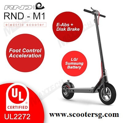 UL 2272 certified RND-M11 electric scooter