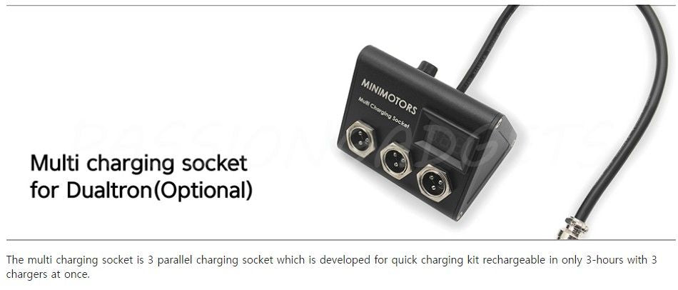 Minimotors Multi charger (USA market only)