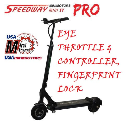 Speedway 4 Mini PRO EYE with EYE throttle, dolly wheels & shipping by Fedex to USA