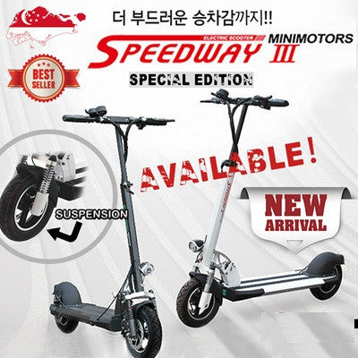 Speedway 3 EYE with Dualtron 3 EYE throttle & controller - Scootersg
