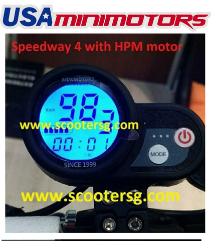 Speedway 4 w HPM Motor (For Central & South America)