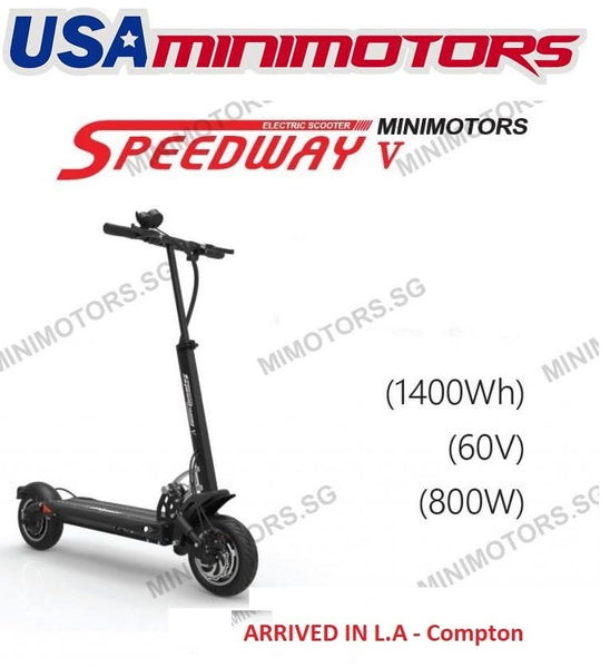 Speedway 5 (USA Market Only) Electric Scooter In USA By