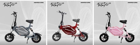 Minimotors TEMPO 52V S2 Seated Electric Scooter (for Europe only)
