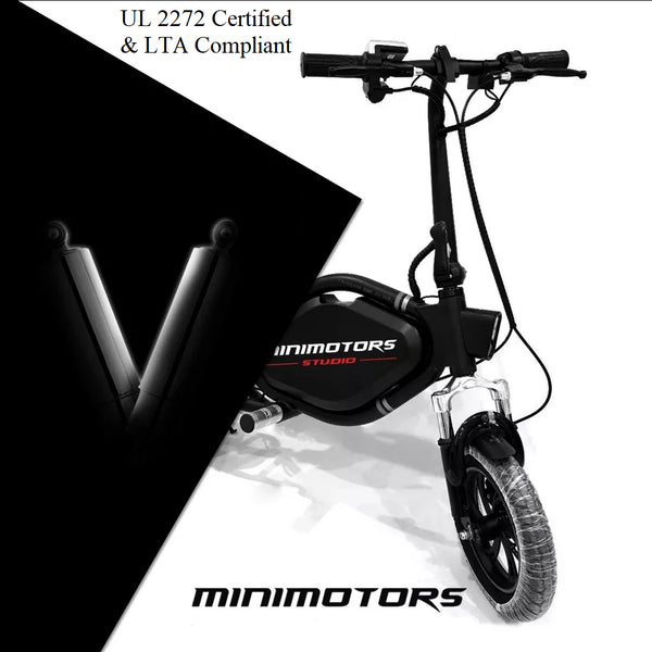 Minimotors TEMPO V3 UL2272 Certified Seated Electric Scooter