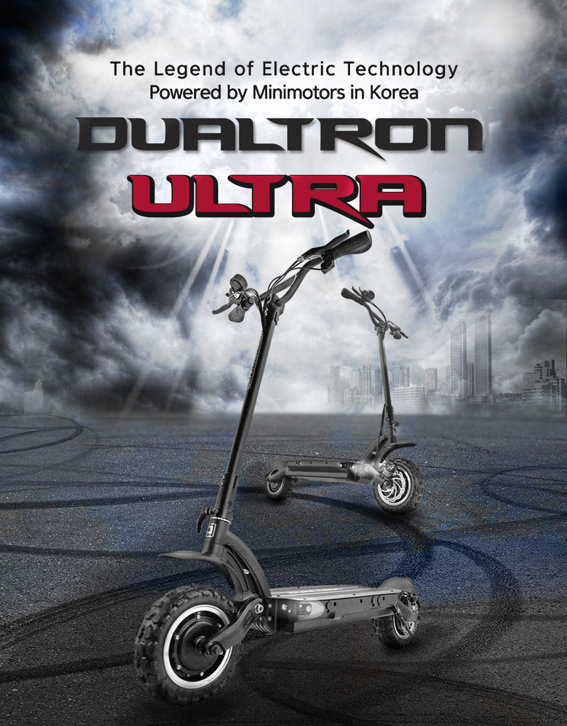 Dualtron ultra in Singapore. its minimotors top end on-road and off-road electric scooter. This is in Singapore, Malaysia, Thailand, Asean & Asia