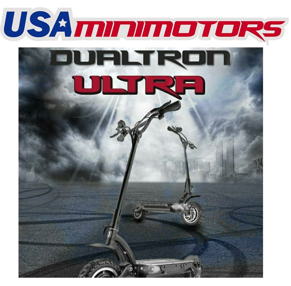 Dualtron ultra in usa. its minimotors top end on-road and off-road electric scooter. This is in Los Angeles, California, USA