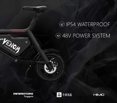 Minimotors VENOM Seated Electric Scooter (pre orders) - Scootersg