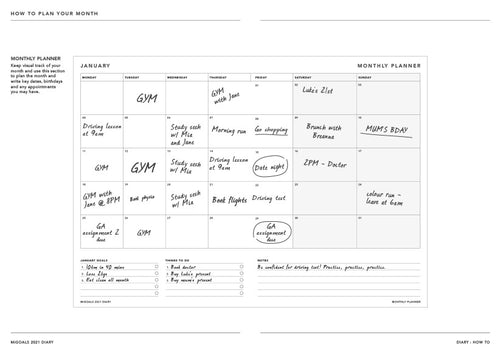 Resource - Plan your month